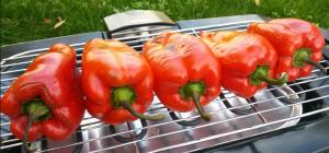 domaći ajvar od pečenih paprika