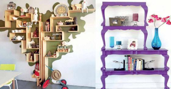 kako napraviti stolice za knjige