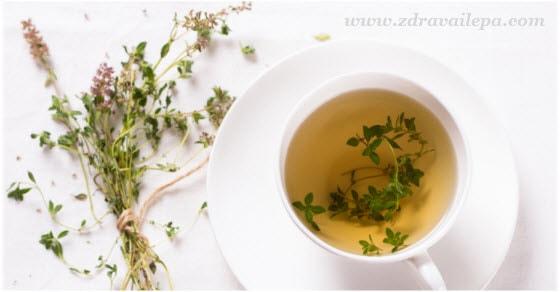 čaj od majčine dušice upotreba