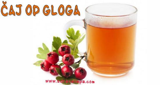 glogov čaj recept