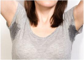 prekomerno znojenje ispod pazuha