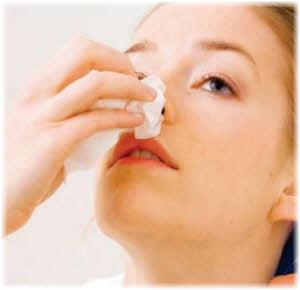 kako zaustaviti curenje krvi iz nosa u trudnoći