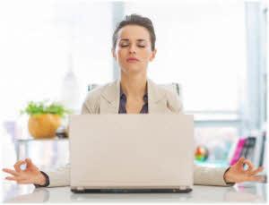 kako meditirati ispred računara