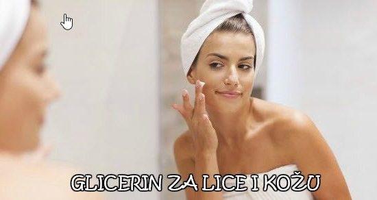 uptoreba glicerina za lice