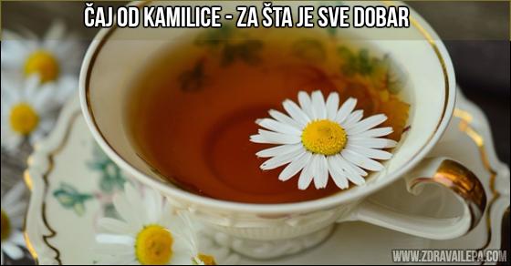 kamilica čaj