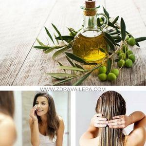 maslinovo ulje za lice podmlađuje i regereniše uz to ono je odlično i za kosu