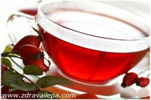 čaj od šipka priprema recepta