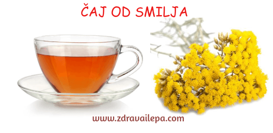 čaj od smilja za fejs