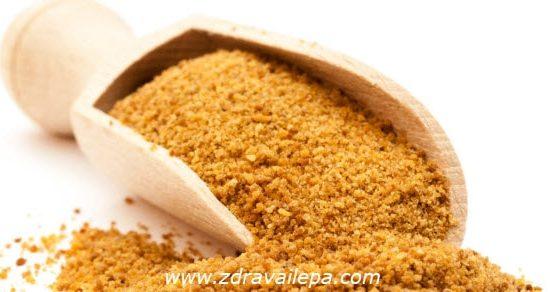 šećer od kokosa upotreba