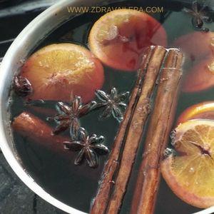 zacini za kuvanje vina se procede na kraju kuvanja