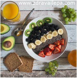 zdrav doručak za 10 minuta