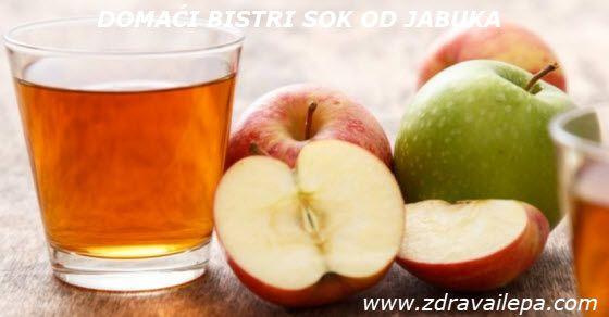 prirodni sirup od jabuke