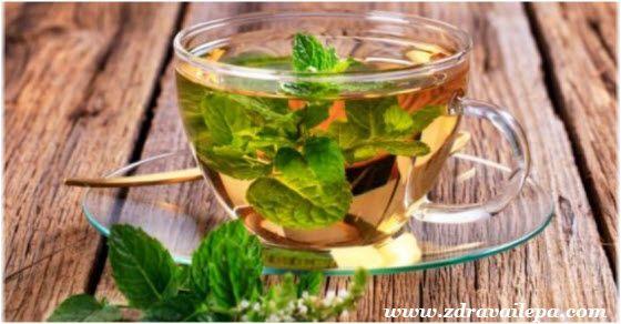 recept za čaj od nane