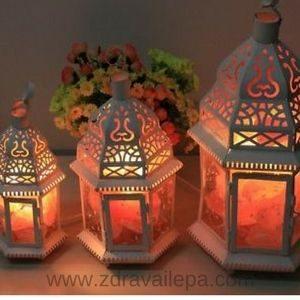 sveća od Himalajske soli za zdravlje ispušta svoje soli u vazduh i pozitivno deluje na bronhije