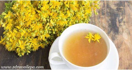 gospina trava čaj protiv depresije