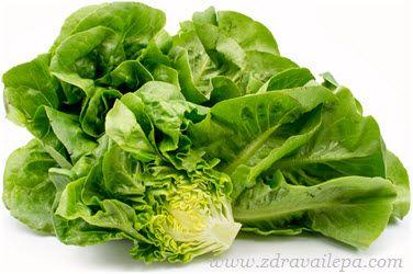 iceberg salata kalorije u 100 grama