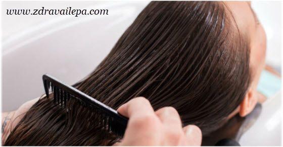 keratinsko ispravljanje kose postupak