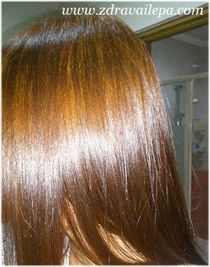 preliv za kosu u boji