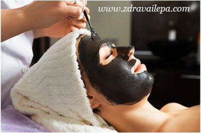 crna maska za lice protiv mitisera