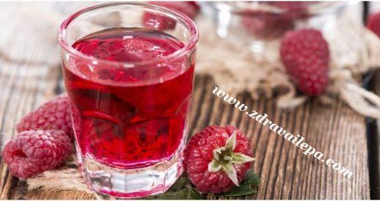 domaći sok od malina recept