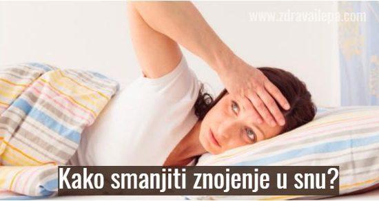 noćno znojenje pred menstruaciju