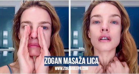 Zogan masaža lica i vrata
