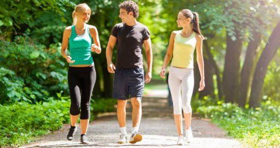 brzo hodanje ili trcanje