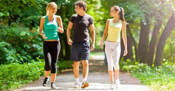 brzo hodanje i skidanje kilograma