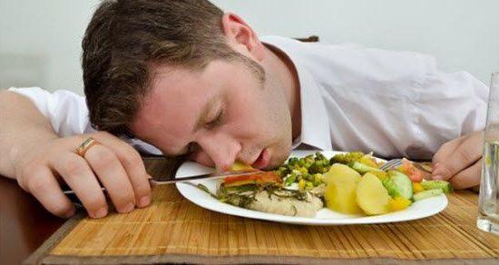 pospanost nakon jela i umor