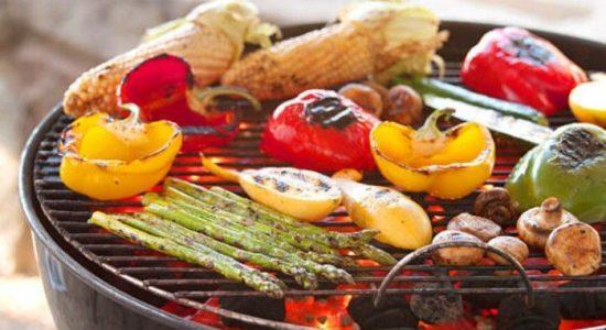povrce na rostilju kako se sprema