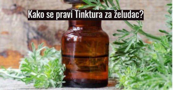 tinktura za zeludac recept