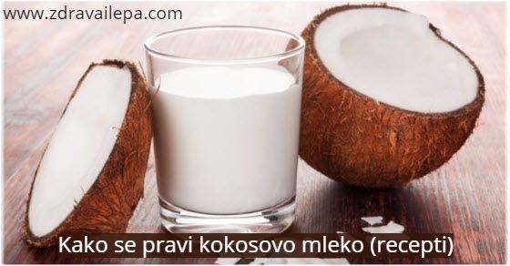 napitak od kokosa za mrsavljenje