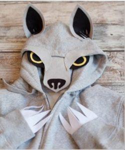 maska za noc vestica vuk