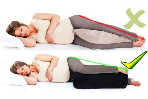 spavanje u trudnoci pravilno i nepravilno